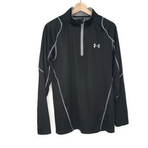 Under Armour Fitted Cold Gear Pullover Size Large